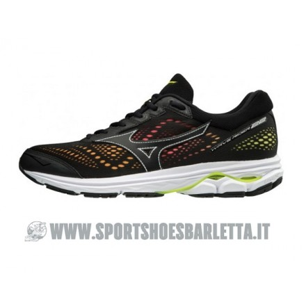 MIZUNO WAVE RIDER 22 OSAKA BLACK/YELLOW