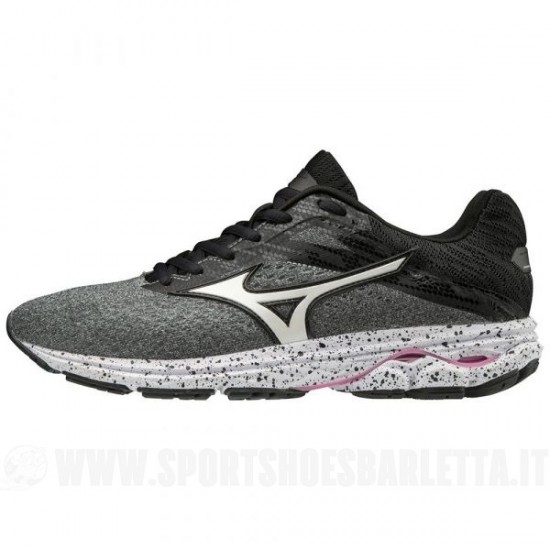 MIZUNO WAVE RIDER 23 donna GREY/WHITE/BLACK