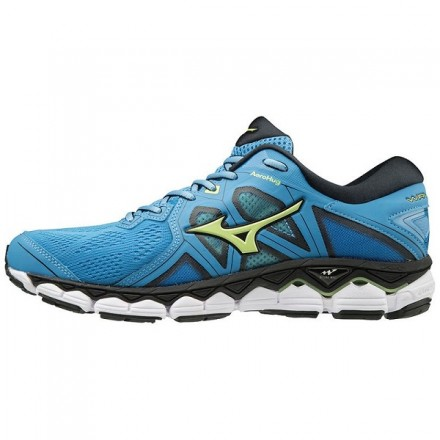 MIZUNO WAVE SKY 2 BLUE/GREEN