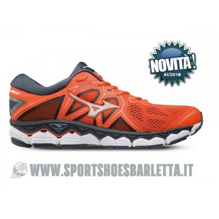 MIZUNO WAVE SKY 2 ORANGE/SILVER/BLACK