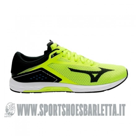 MIZUNO WAVE SONIC YELLOW/BLACK/WHITE