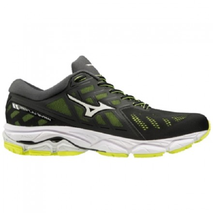 MIZUNO WAVE ULTIMA 11 BLACK/WHITE/YELLOW