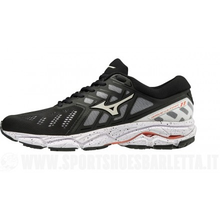 MIZUNO WAVE ULTIMA 11 donnaBLACK/WHITE