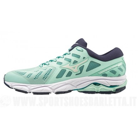 MIZUNO WAVE ULTIMA 11 donna GREEN/WHITE