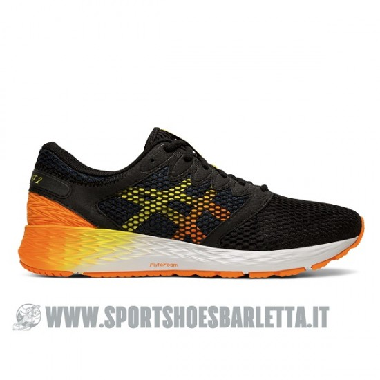 ASICS ROADHAWK FF 2 BLACK/ORANGE