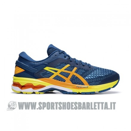 ASICS GEL KAYANO 26 MAKO BLUE/SOUR YUZU
