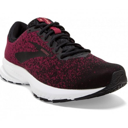 BROOKS LAUNCH 6 RED/BLACK/RED