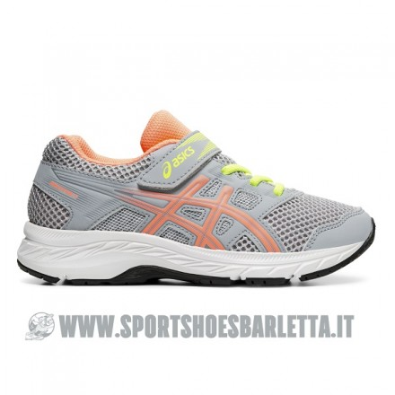ASICS GEL CONTEND 5 PS GREY/CORAL