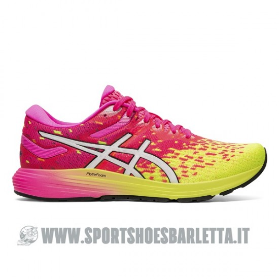 ASICS DYNAFLYTE 4 donna PINK/YELLOW