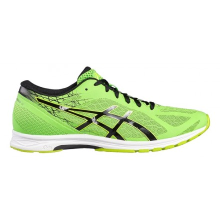 ASICS GEL DS RACER 11 GREEN/BLACK/ SAFETY YELLOW