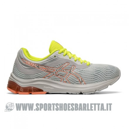 ASICS GEL PULSE 11 LS donna GREY/CORAL