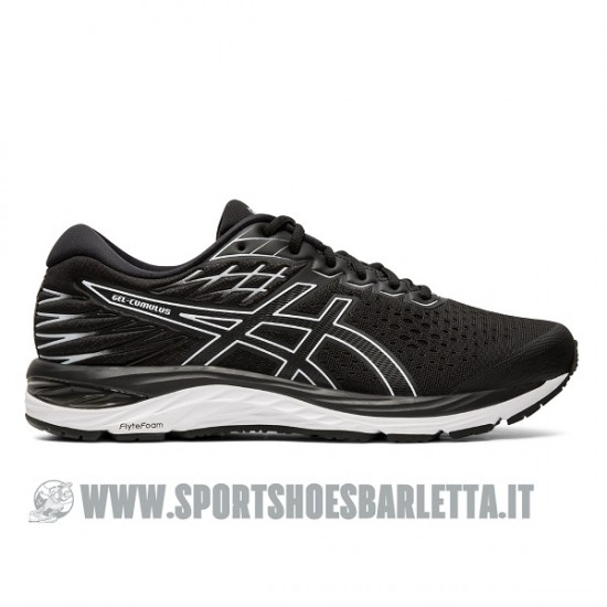 ASICS GEL CUMULUS 21 BLACK/WHITE