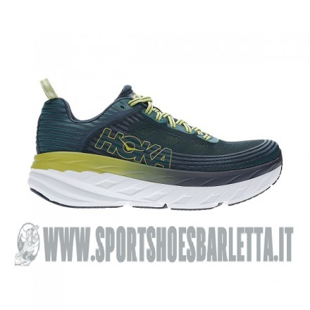 HOKA ONE ONE BONDI 6 Deep Teal/Green Oasis