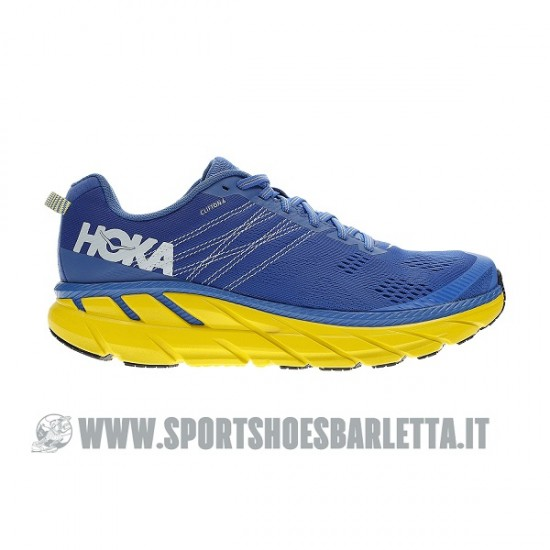 HOKA ONE ONE CLIFTON 6 NEBULAS BLUE/PLEIN AIR