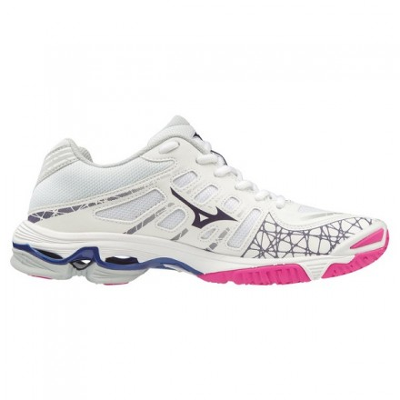 MIZUNO WAVE VOLTAGE donna WHITE/PINK