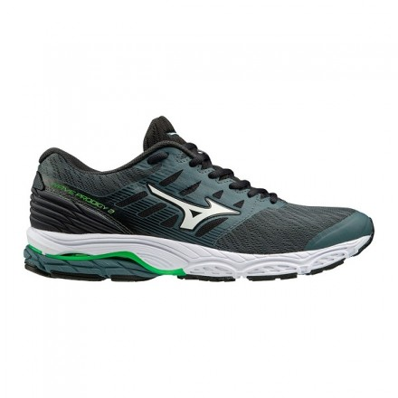 MIZUNO WAVE PRODIGY 2 DARK/WHITE/LIME
