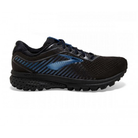BROOKS GHOST 12 GTX BLACK/EBONY/BLUE