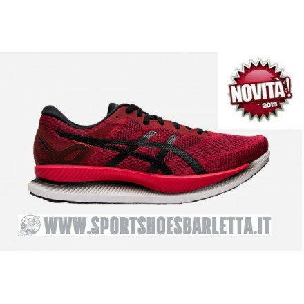 ASICS GLIDE RIDE RED/BLACK