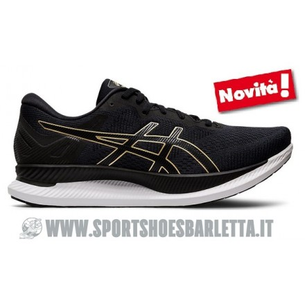ASICS GLIDERIDE BLACK/PURE GOLD