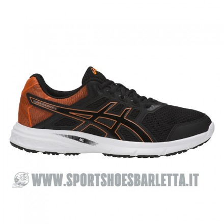 ASICS GEL EXCITE 5 BLACK/ORANGE