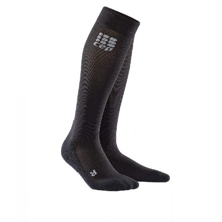 CEP COMPRESSION SOCKS FOR RECOVERY BLACK