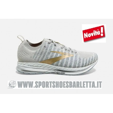 BROOKS BEDLAM 2 donna White/Grey/Gold