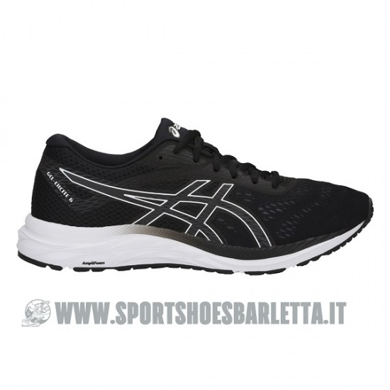 ASICS GEL EXCITE 6 BLACK/WHITE