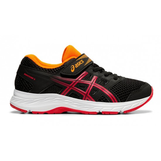 ASICS GEL CONTEND 5 PS BLACK/RED