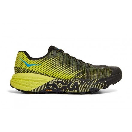 HOKA ONE ONE SPEEDGOAT EVO CITRUS/BLACK