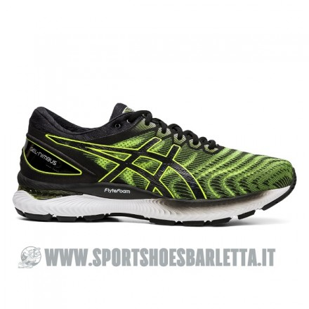 ASICS GEL NIMBUS 22 SAFETY YELLOW/BLACK
