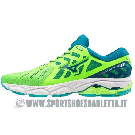 MIZUNO WAVE ULTIMA 11 GREEN/BLUE