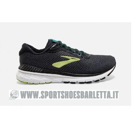 BROOKS ADRENALINE GTS 20 BLACK/LIME/BLUE